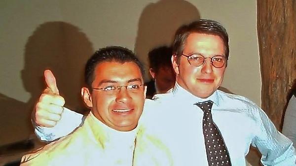 Rolloutmanager Diederik Berghs (rechts)